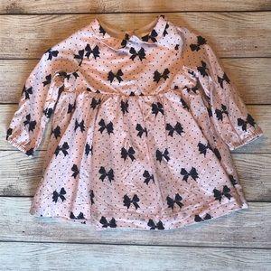 Baby Gap Pink Bow Dress